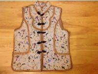 New Ladies Vintage Leather Vest