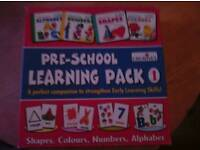Creatives preschool learning pack 1