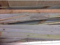 Free scrap wood from old gate