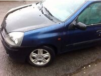 LHD Renault Clio 1.5dci