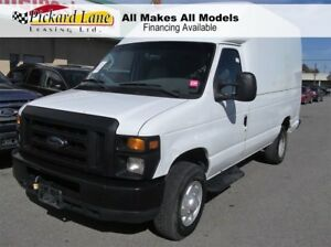 2008 Ford E-350 Commercial AS IS. DIESEL CARGO VAN!