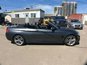 2014 BMW 4 Series / 428 Xi / CABRIOLET / NAV / B/U CAM / LOW KMS