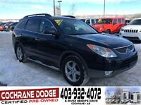 2008 Hyundai Veracruz Limited with SUNROOF AND REAR DVD!