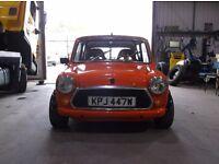Classic Austin Morris Mini City 1275 modified