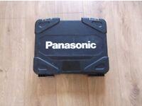 Panasonic 14.4v drill/driver with 3ah li-ion batteries x2 plus torch
