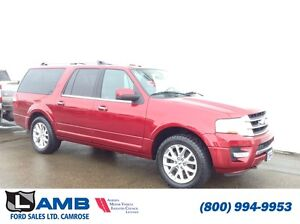2016 Ford Expedition Limited Max Navigation Moonroof Power liftg