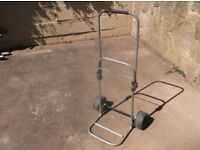 toilet casset trolly for camping etc