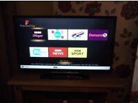 "FOR SALE 32 "" JVC LED SMART TV TELEVISON NOT CAR VAN DVD CD LC BIKE"
