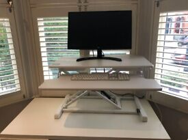 Standing desk + table, office chair for free available the week of July 12th