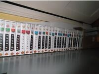 FREINDS VIDEOS NEVER COLLECTION OF All the FRIENDS vhs sets and series 31in all and 5 box sets