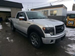 2014 Ford F-150 / FX4 / LEATHER / NAV / SUNROOF