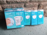 Water Filter jug and Filters