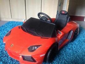 Lamborghini aventador - kids car