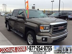 2015 GMC Sierra 1500 SLE Crew w/HEATED SEATS AND BACK-UP CAMERA!