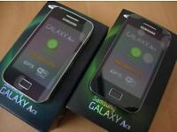 SAMSUNG GALAXY ACE UNLOCKED BRAND NEW BOX WARRANTY AND