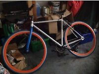 Mango Fixie Great Condition FIXED GEAR BIKE £300 New