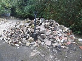 FREE Rubble Hardcore for collection West Parley / Ferndown border