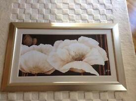 Ex show home framed art