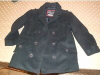 REALLY SMART WARM, COAT FOR 3-4 year old. Dark navy and looks very good when on.