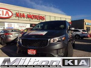 2016 Kia Sedona LX+  POWER SLIDING DOORS
