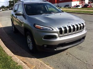 2017 Jeep Cherokee NORTH/REM START/HTD SEATS/BACK UP CAM/4X4
