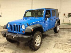 2011 Jeep WRANGLER UNLIMITED RUBICON 4WD A\C MAGS