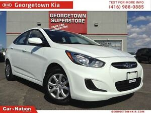 2014 Hyundai Accent L | | 1.6L | HEATED SEATS | AUX AND USB |