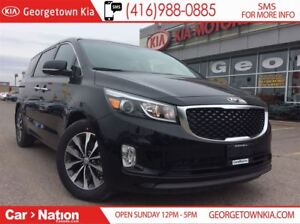 2018 Kia Sedona SX+ | $220 BI-WEEKLY | LEATHER |