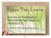 Gardener Eggys Tidy Lawns