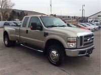 2008 Ford F-350 XLT DUALLY - LEATHER INTERIOR, CLEAN CARPROOF