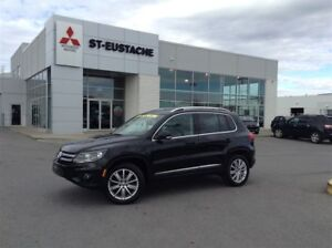2012 Volkswagen Tiguan **CUIR**4X4/AWD HIGHLINE**TOIT PANO**MAGS
