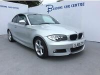 BMW 1 SERIES 118d M Sport (silver) 2010