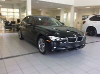 2015 BMW 320I Sport Line! Black on Corail Red Leather!