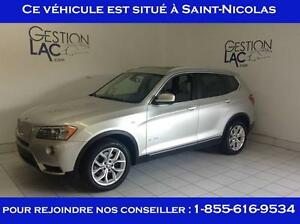 BMW X3 Xdrive28i Toit Panoramique 2013