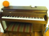 Old piano, been in the family for a long time $300