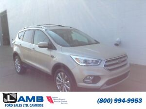 2017 Ford Escape Titanium 4WD with Canadian Touring Package and