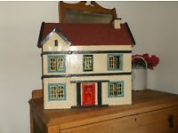 Vintage doll's house