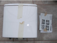 New complete dual flush toilet cistern