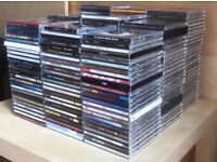 COLLECTION OF APPROX 230 POP & ROCK MUSIC CDs