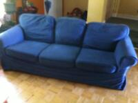 Blue couch (ikea)