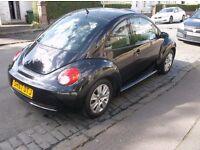 2008 vw beetle 1.4 luna 3/door hatch black