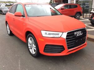 2016 Audi Q3 GET A CHRISTMAS GIFT WITH EVERY VEHICLE PURCHASE!