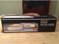 Fish Poacher stainless steel