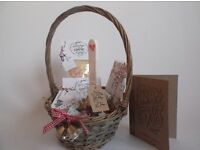 Delicious chocolate christmas hamper-free personalised card-free p&P
