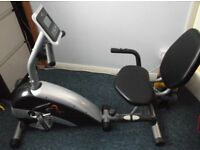 Vfit Recumbent Magnetic Exercise Bike (Nearly New) Sensible offers considered. Need to sell.