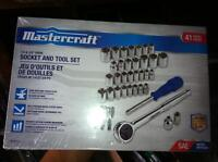 Two NEW Mastercraft Socket/Bitset Sets