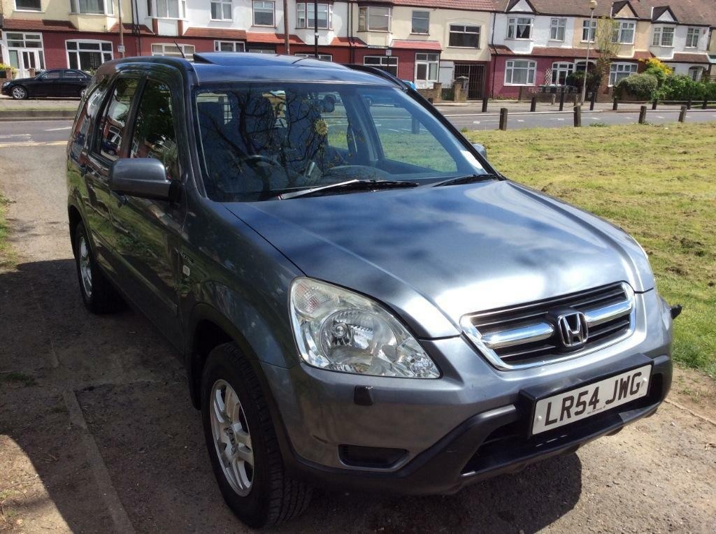 Honda crv 2 0 automatic 54 reg metalic grey in enfield for Gray honda crv