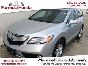 2014 Acura RDX BASE | ACCIDENT FREE | ONE OWNER