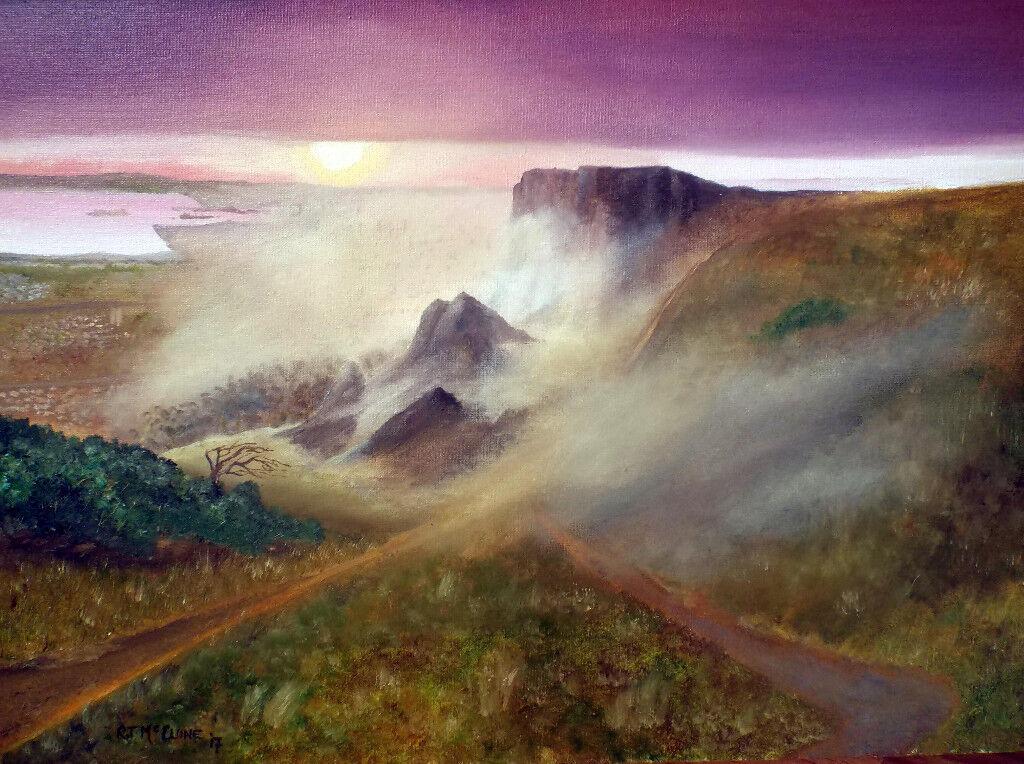 'Misty sunrise - Cavehill'
