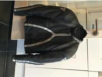 Dainese mens racing leather 2 piece: jacket (size 46) and trousers (size 48). very good condition